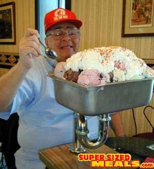 Share A GIANT Sundae With Friends