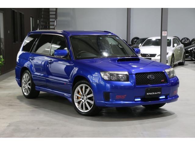 SUBARU FORESTER STI VERSION | 2005 | BLUE | 48,000 km | details.- Japanese used cars.Goo-net Exchange
