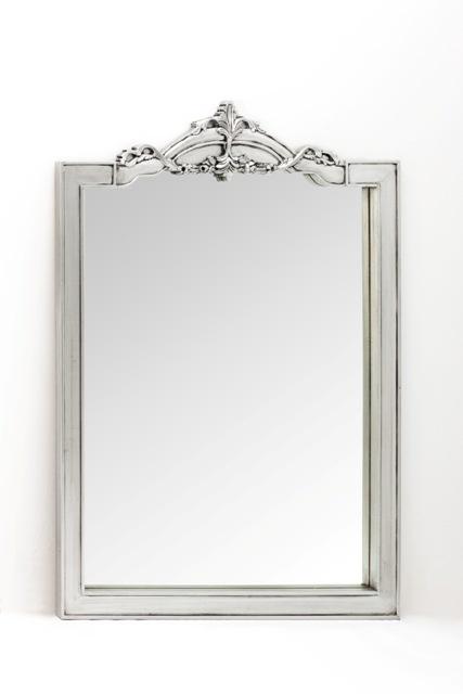 Antique Silver Mirror 1 x 1.3m