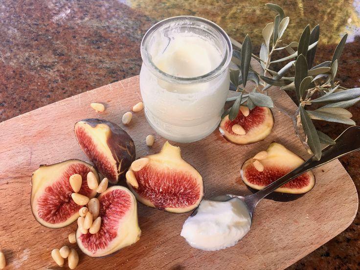 Řecký jogurt s fíky