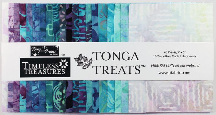 "Tonga Treats Mystical - Batik Charm Pack - 5"" Inch Precut Fabric Squares - Treat-Mini Mystical - Timeless Treasures by Jambearies on Etsy"