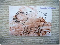 pig in the mucky mud