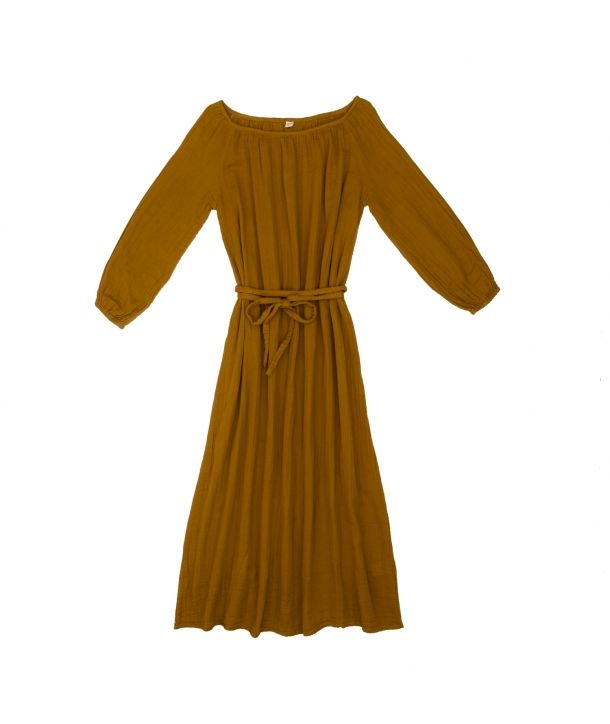 Dress for mum long gold