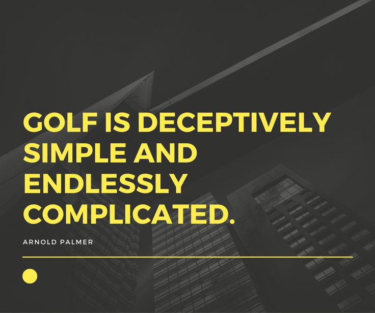 Golf Quote Magnificent 22 Best Golf Quotes Images On Pinterest  Golf Tips Golf Clubs