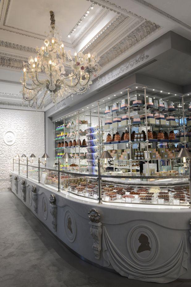 Inside the new LES MARQUIS DE LADURÉE PARIS... Ladurée's new chocolate-centric boutique