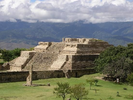 Monte Albán, Oaxaca  This is outside of Oaxaca City and was one of our favorite places to visit.  The steps seem very high when you fall off of them backwards.  lol