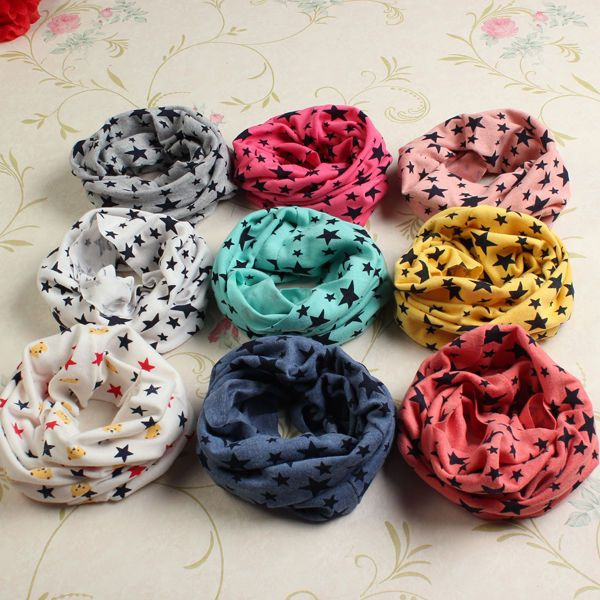 Kid Child Girl Boy Toddler Star Wrap Cotton Winter Warm Snood Scarf Xmas Gift in Clothes, Shoes & Accessories, Kids' Clothes, Shoes & Accs., Boys' Accessories | eBay