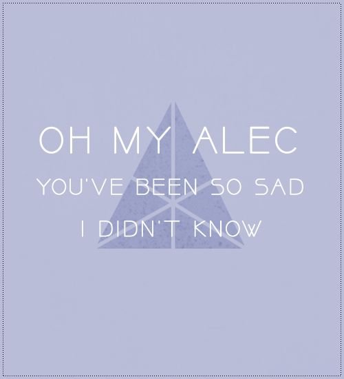 Magnus quote, City of Heavenly Fire