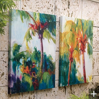 Frontgate Tropical Breeze Outdoor Wall Art