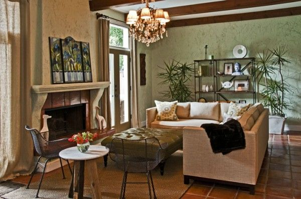 Eclectic Living Room Images