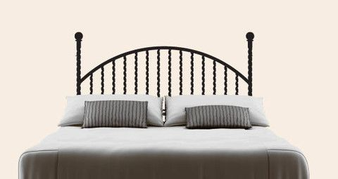 Wrought iron as headboard decals for your bedroom.  Visit this link for more designs: https://limelight-vinyl.myshopify.com/