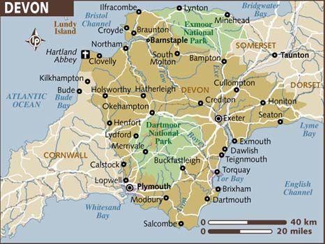 ENGLAND Devon, Eng My dad's side: Grandpa Loren Larue Cooper, Jr 's Paternal line: Sanders line, Sampson Cooper (8xG) immigrated- lived in Northumberland, Virginia, immigrated 1654 landing in VA.