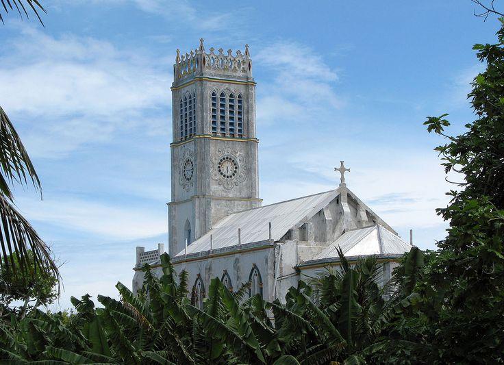 https://flic.kr/p/7SsVBr | Kiribati 09379 | Catholic church, Koinawa, Abaiang, Kiribati