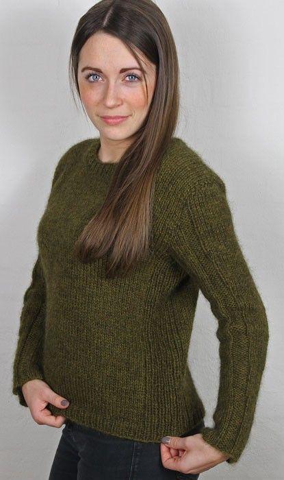 Sweater med rib - Kvinder - Charlotte Tøndering - Designere
