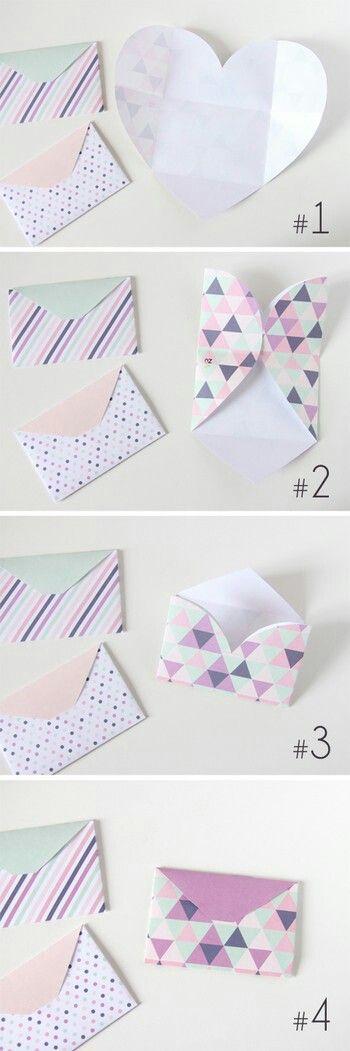 Best  Cute Envelopes Ideas On   Envelopes Homemade