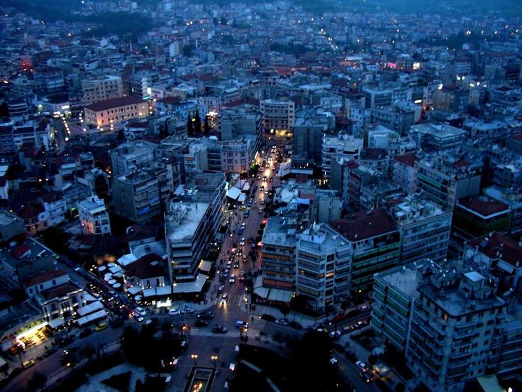Veria by night Macedonia Greece