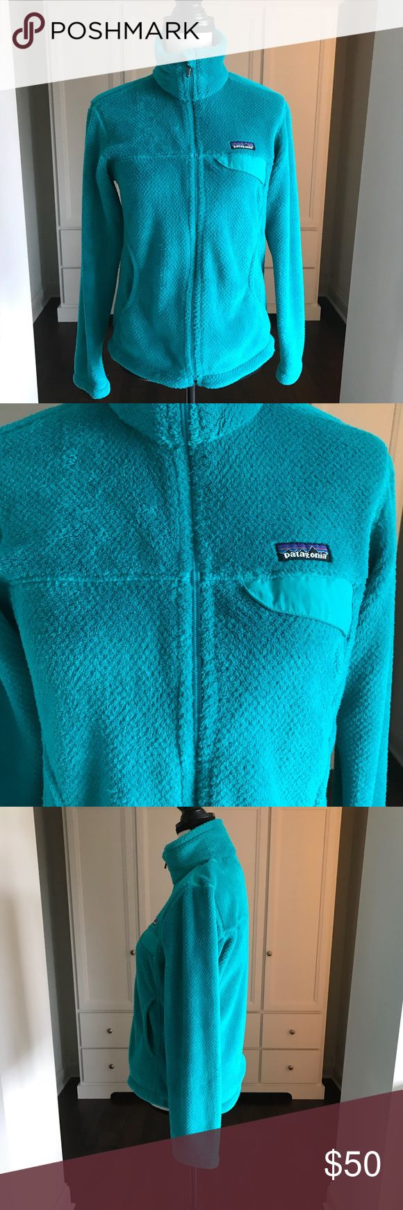 Patagonia ReTool Fleece Full Zip New no tags  Excellent condition  Deep teal color Patagonia Jackets & Coats