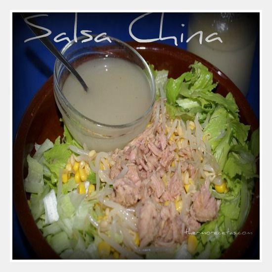 Salsa china - Recetas Thermomix