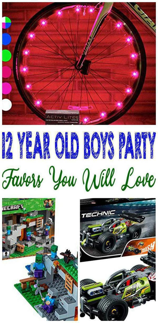 Check Out These Amazing 12 Year Old Boys Party Favors Have An Awesome 12 Year Old Boys Party For Y Boy Party Favors Boys Birthday Party Favors 12 Year Old Boy