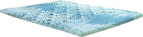 Lane GelLux Cooling Memory Foam Mattress Topper 2 Queen -- Want additional info? Click on the image. #MattressToppers