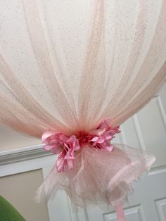 How to make tulle balloons