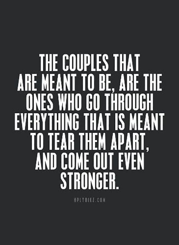 20 Love Quotes To Remind You To Stay Together — Even When Times Get Really, Really Tough – FYW