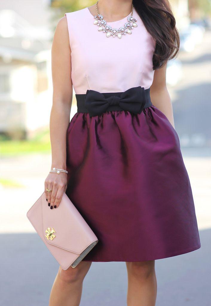 Kate Spade Swift Dress and Ily Couture Double Wrap Crystal Bracelet-7 ༺✿ƬⱤღ  http://www.pinterest.com/teretegui/✿༻