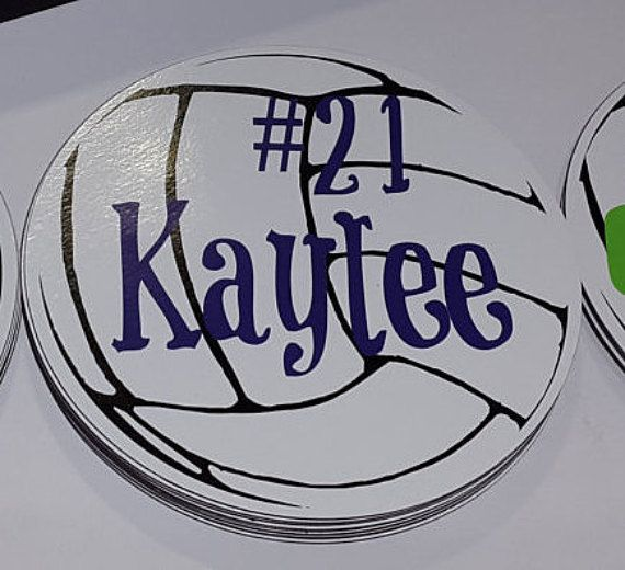 Unique Car Magnets Ideas On Pinterest Cricut Expression - Custom volleyball car magnets