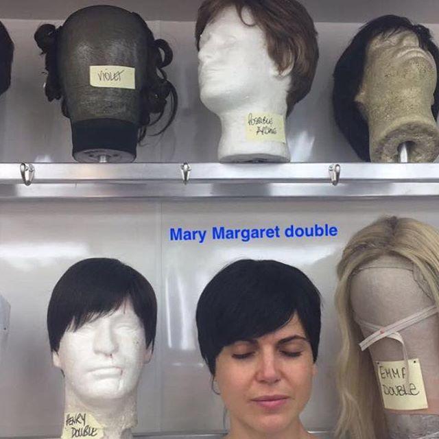 Creepy or funny?! Mmmmuuuhahaha! My #50EvilWays -#32 #marymargaret #wig #hair #onceuponatime #evilregals #goofball