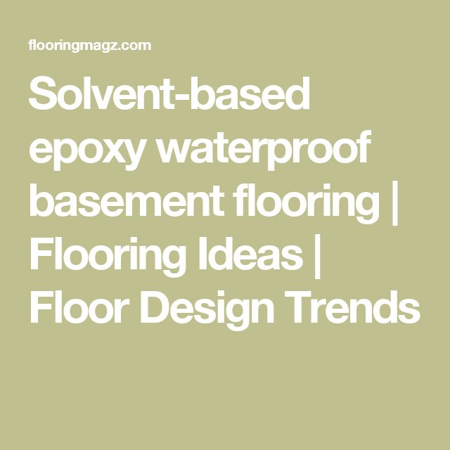 1000 Images About Heated Basement Floor On Pinterest: 1000+ Ideas About Epoxy Floor Basement On Pinterest