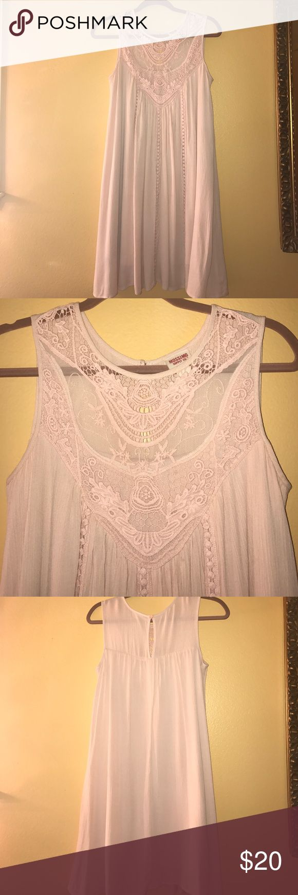 Mossimo Lace Dress Beautiful blush pink lace dress! A little too long on me but perfect for any spring or summer occasion! Mossimo Supply Co Dresses
