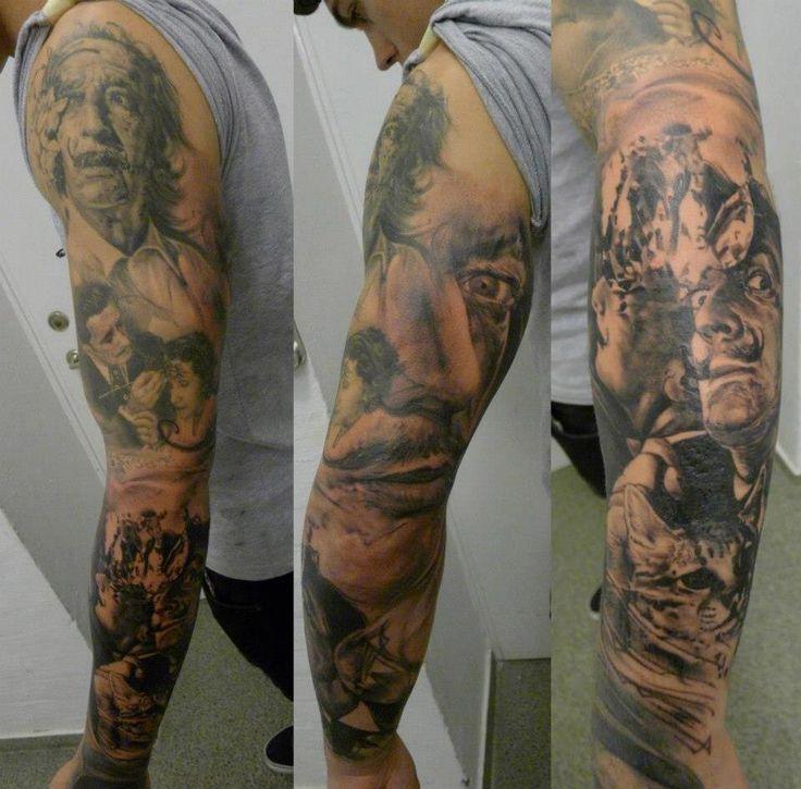 Salvador Dali Tattoo Dali Tattoo: Best 25+ Dali Tattoo Ideas On Pinterest