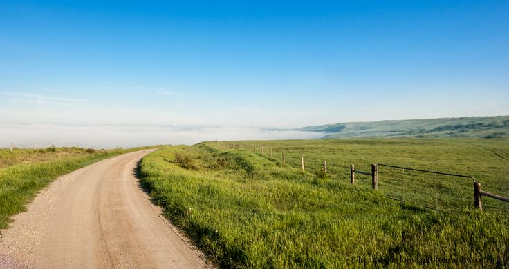Glenbow Ranch Provincial Park Down Into The Foggy Morning #Glenbow #Cochrane #photography #Calgary #park