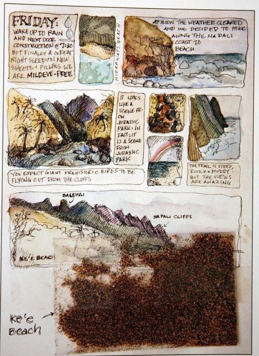 from 1000 Artist Journals