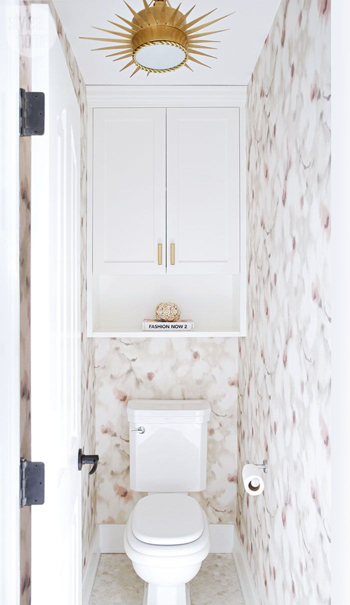 A Dark And Dated Ensuite Gets Glamorous Update
