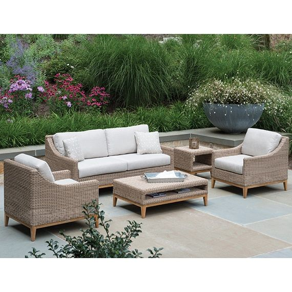 Super Kingsley Bate Frances Deep Seating Lounge Chair Firepit In Pdpeps Interior Chair Design Pdpepsorg