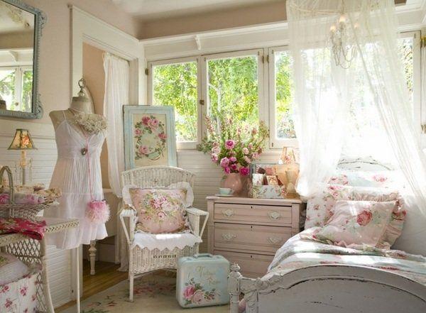 Die 25+ Besten Ideen Zu Romantisches Schlafzimmer Dekor Auf ... Schlafzimmer Romantisch Verspielt