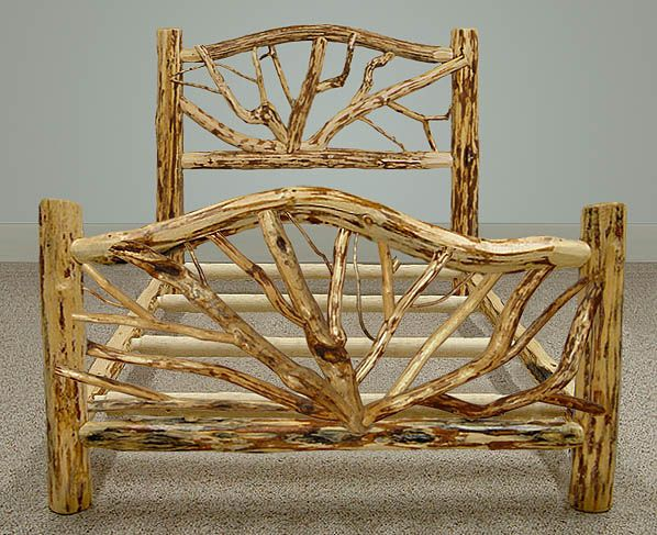 cool log furniture