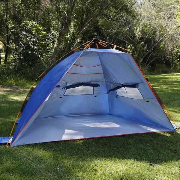 Instant Pop Up Half Dome Beach Tent
