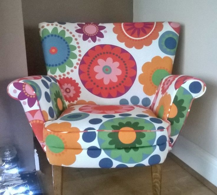 Retro chair by SR Upholstery