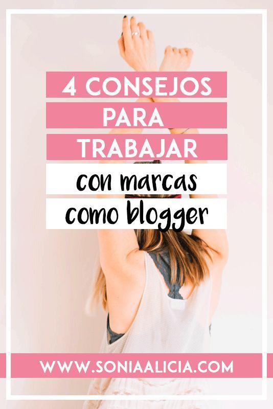 4 consejos para trabajar con marcas como blogger