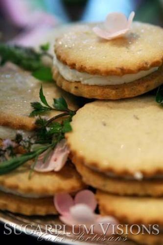 Lavender Sandwich cookies. Sugarplum-Visions.com | Tea Time ...