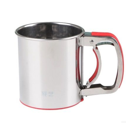 Cheap cups custom, Buy Quality cups christmas directly from China cups party Suppliers:    Stainless Steel Mesh Flour Sifting Sifter Sugar Strainer Kitchen Baking Cup Flour Shaker   Material:stainless steel
