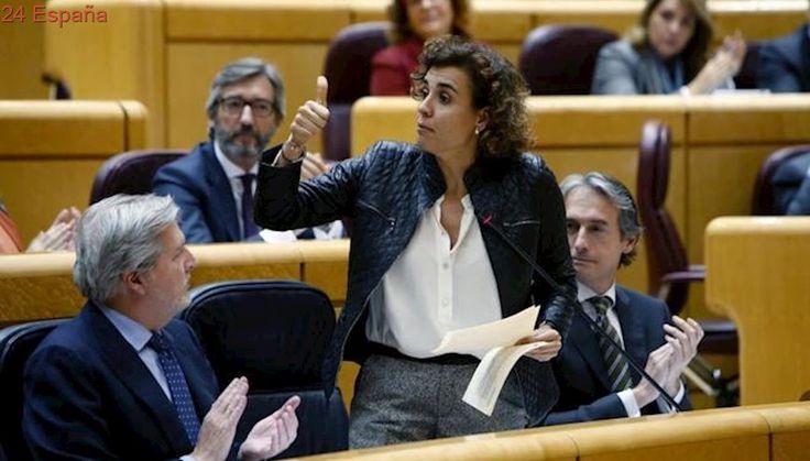 "Dolors Montserrat exige a un senador de ERC que no le dé ""lecciones de democracia"""
