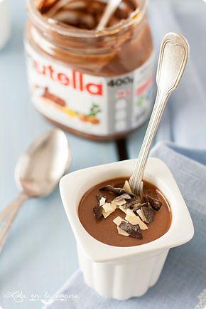 Pannacotta de Nutella ༺✿ƬⱤღ✿༻