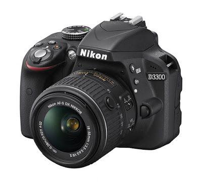 Macchina fotografica reflex digitale: Macchina fotografica reflex digitale - Nikon D3300...