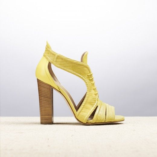 HARD ROKER YELLOW _ SPRING SUMMER 2015 COLLECTION | #altiebassi #spring #summer #2015 #sophisticated #italianshoes #…
