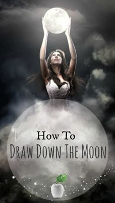 Moon: ☽⊙☾ Silver Apple Society ☽⊙☾ ~ How to Draw down the #Moon ~ ... Before you Draw down the Moon, cleanse your space and cast the magick circle. ---- Read more....