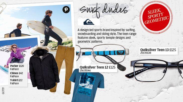 Surfwear for teens