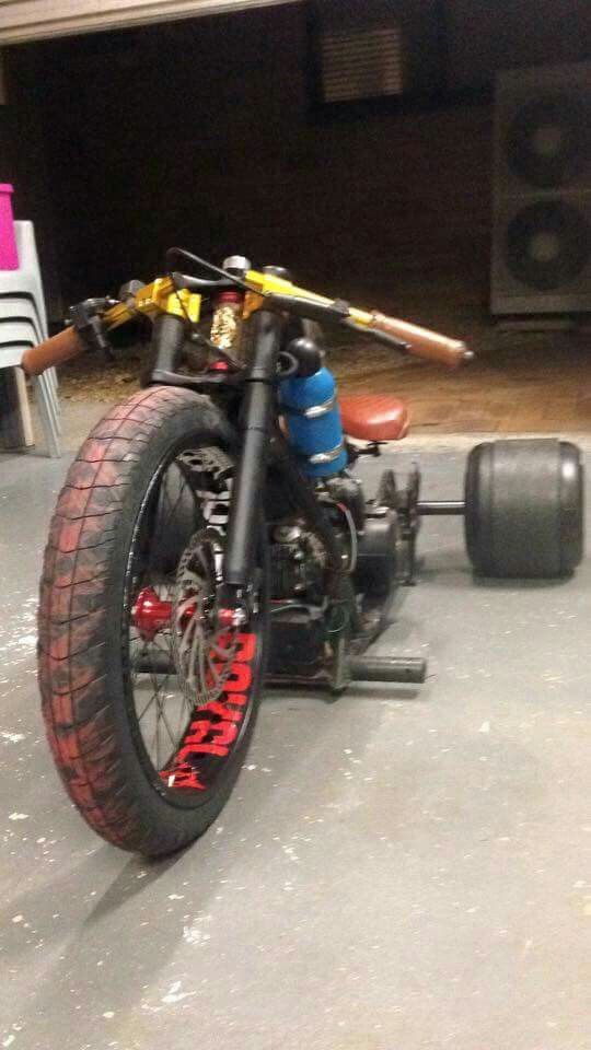 Drift Trike custom with NOS